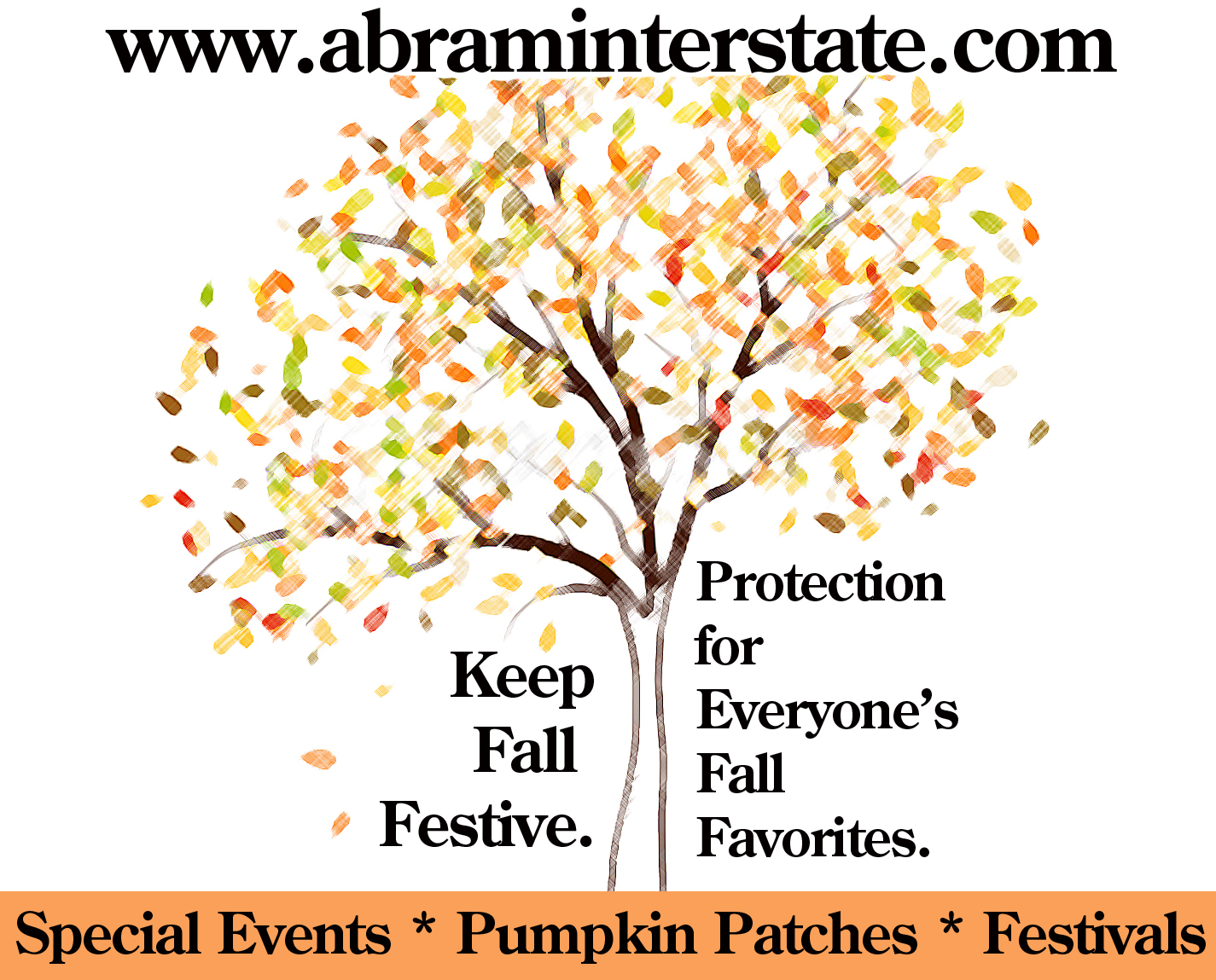 Fall ad for fliers
