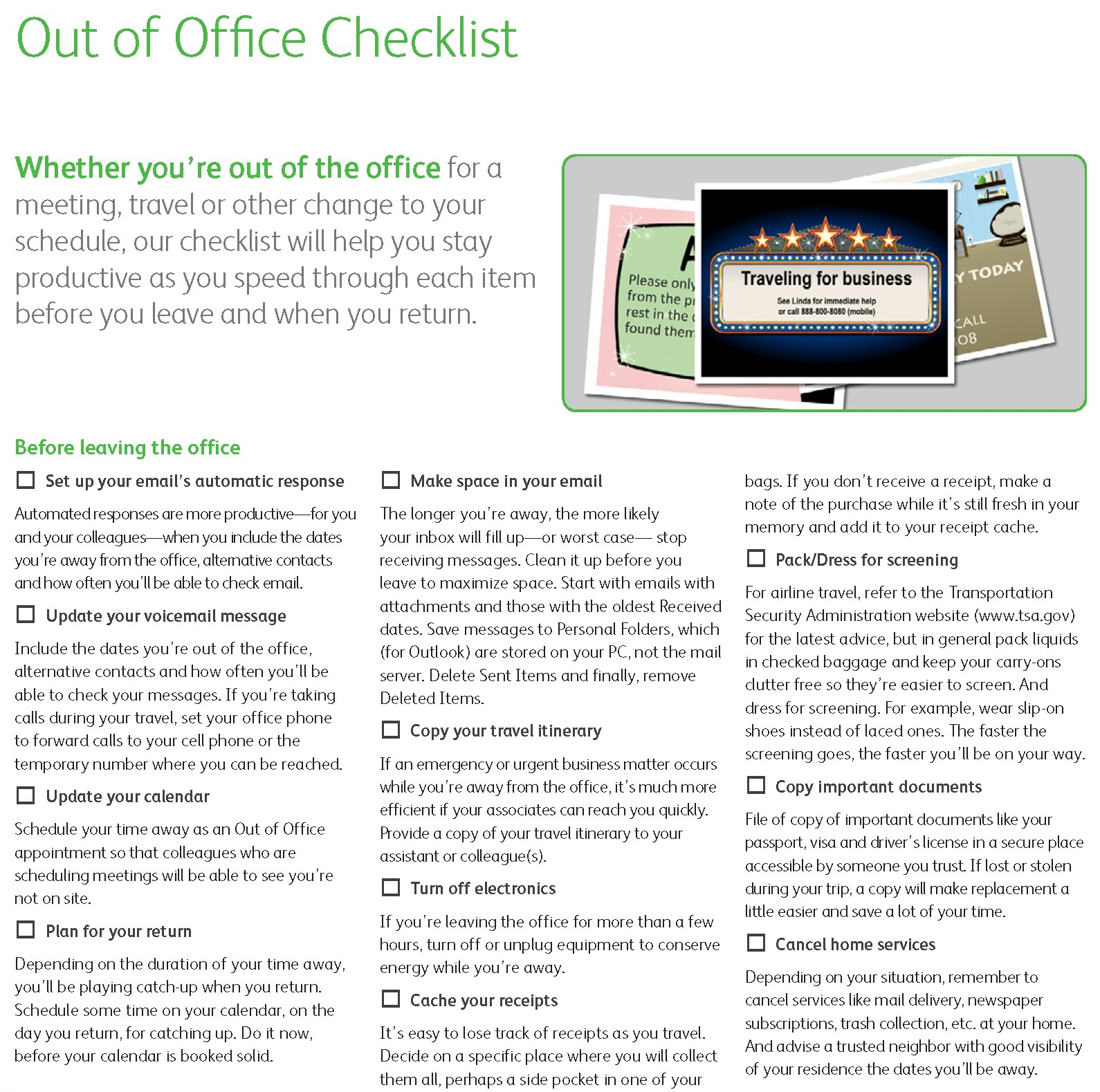 Out of Office Checklist_Page_1