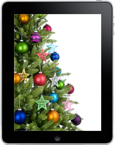 christmas-ipad-display