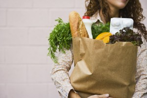 grocery-bag-woman